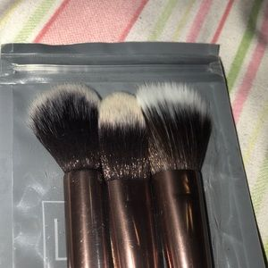 Sephora Makeup - Luxie brushes. Set of 3, brand new. Never used.